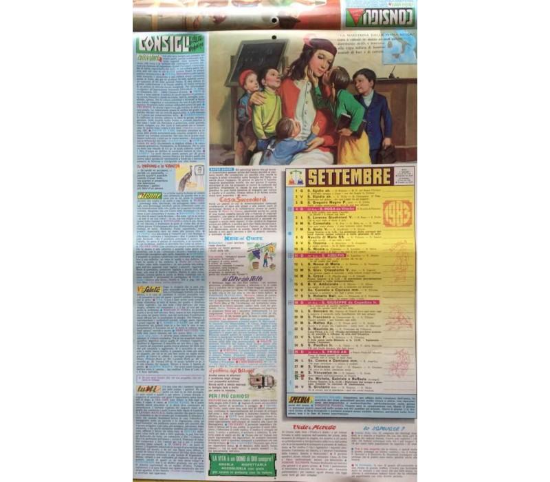 Calendario Frate Indovino.Calendario Frate Indovino 1983