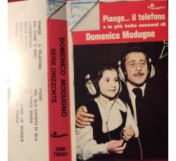 Domenico Modugno ‎– Piange Il Telefono - MC