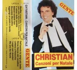 Christian – Canzoni Per Natale  - MC