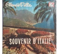Claudio Villa – Souvenir D'Italie (LP,Vinile)