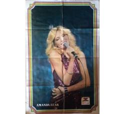 AMANDA LEAR  - POSTER- cm 75 x cm 48