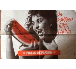 Poster Italia Network  - Un sorriso tutto Latino cm 60 x cm 40