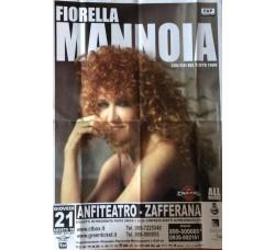FIORELLA MANNOIA - Locandina Tour  2008 Zafferana Etnea