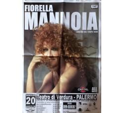 FIORELLA MANNOIA - Locandina Tour  2008 Palermo
