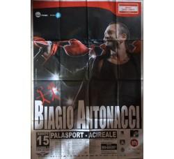 BIAGIO ANTONACCI - Locandina Tour 2007 Acireale