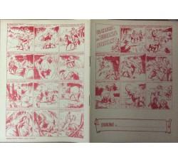 Caccia alle belve feroci - Lotto serie 6 quaderni nuovi a fumetti anni 50 - vedi foto e dettagli