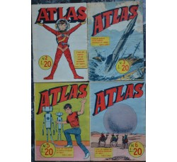 ATLAS ed. Universo 1963 n.2-3-5-6 - 1 numero a scelta del lotto - vedi dettagli e foto