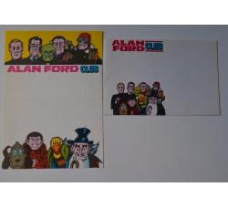 ALAN FORD Club - busta e carta intestata ed. Corno -