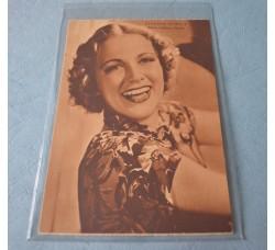 Attrici: E. Powell, G. Paolieri, V. Bruce, D. Durbin - 4 cartoline cinema anni 30