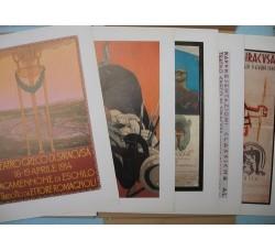 MANIFESTI IST. NAZ. DRAMMA ANTICO 1914 - 1984 Siracusa