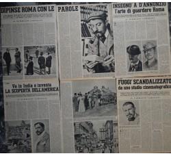 CESARE PASCARELLA biografia in 4 num. TEMPO 1957 F. Sarazani 24 pag.