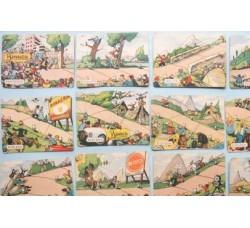 CRAVERI Giro Binaca - gioco ciclismo, 54 carte 1952