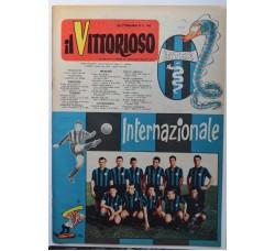 IL VITTORIOSO n. 49 - 1959 giornale INTER Calcio - vedi le foto