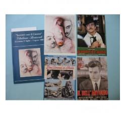 INCONTRI CINEMA ACICATENA '89 V. BRANCATI - 4 cartoline numerate + box