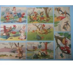 CRAVERI 8 cartoline de IL VITTORIOSO serie II° cpl.
