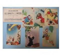 CRAVERI 12 cartoline de IL VITTORIOSO serie V° cpl. con custodia
