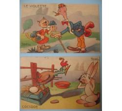 CRAVERI 2 cartoline de IL VITTORIOSO serie II°