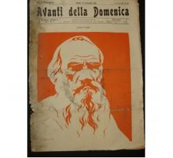 AVANTI della Domenica n.55/1904 - Socialismo Trieste, Krenerk, Tolstoi