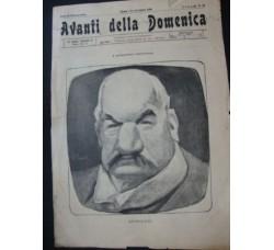 AVANTI della Domenica n.56 / 1904 Socialismo - caricature, Morgan e Scarpelli