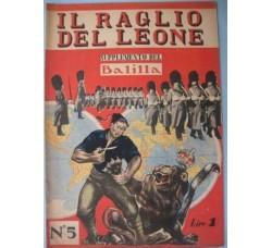 Supplemento Balilla 1940 - IL RAGLIO del LEONE - WW2