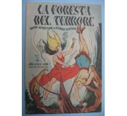 Albo d'Oro n.106 -1948 GIORGIO VENTURA - LA FORESTA del TERRORE - originale - ottimo