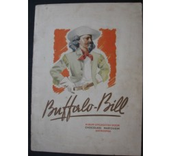 BUFFALO BILL album figurine Chocolade Martougin COMPLETO originale