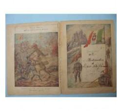 Alpini, Bersaglieri - Copertina di Quaderno 1° Guerra WW1