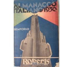 ALMANACCO ITALIANO BEMPORAD 1930 - 1000 figure -