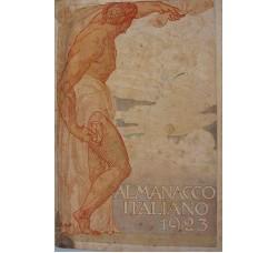 ALMANACCO ITALIANO BEMPORAD 1923 - 800 figure -