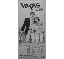DYLAN DOG su rivista LAPIS - n.89 - 1994 - pubblicità