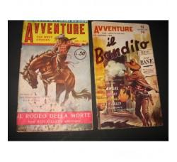 AVVENTURE n. 5 e 11 - ed. De Leo 1947/48