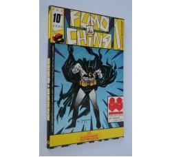 Batman e Dylan Dog su FUMO di CHINA n.1-1987 - come dalle foto