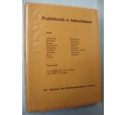 PUBBLICITA' e TELEVISIONE ed. ERI 1968 Carosello - Gratis spedizione