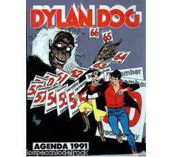 DYLAN DOG - Agenda 1991 Non Datata Mai usata - Editore De Agostini