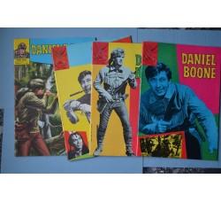 Albi Spada DANIEL BOONE n.2-3-4-8 1972 - Come nuovi