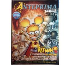 Anteprima Fumetti, rivista - lotto di 6 anno 2014