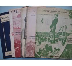 Ordine del Giorno P.N.F. GIL Comando CT - 1938/42 - Fascismo