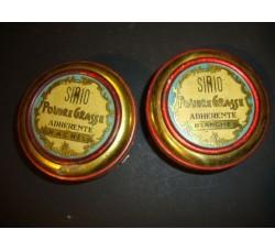 profumeria SIRIO Poudre Grasse - 2 scatole latta
