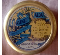 Scatola di latta - Pastiglie Valda - Stabilimenti Pastival Milano - Vintage