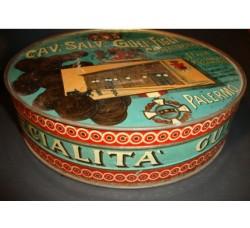 scatola latta CASSATA POSTALE cav.Salv. GULI' & Figli - Palermo