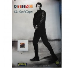 STING the Soul Cages - Poster vintage