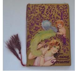 Busi TRINE e PIUME 1931 Almanacco profumato LEPIT profumi, calendarietto