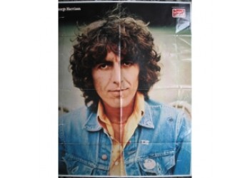 BEATLES George Harrison Poster - Suppl. Ciao 2001