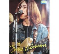 "BEATLES J. Lennon  Poster - Suppl. riv.  ""Tutto"""