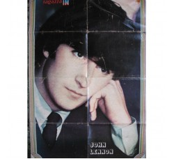 "BEATLES J. Lennon ""Ragazza IN"" Super Poster"