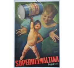 Boccasile - SUPERDIAMALTINA Lepetit