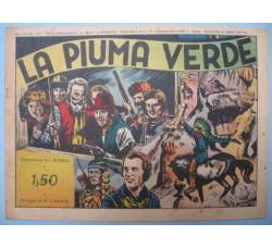 Albi del Vittorioso n.12 /1941 LA PIUMA VERDE Bonelli / Canale