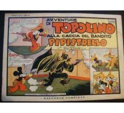 TOPOLINO e il BANDITO PIPISTRELLO albi di Topolino 1935