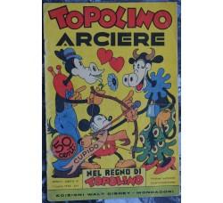 Nel Regno di Topolino n.16 - TOPOLINO ARCIERE - fumetto d'epoca