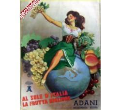 Boccasile - Frutta ADANI BOLOGNA - pubblicità